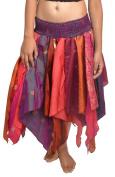 Wevez Women's Tribal Leaves Style Skirt Pack Of 5