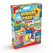 WOW Toys Racers Reward Chart and 3 Toy