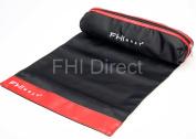 FHI Heat Hair Straightener Magnetic Heat Mat & Pouch red Trim