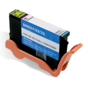 Printronic Compatible Ink Cartridge Replacement for Dell Series 31 32 33 34 (1 Magenta) for V525w V725w