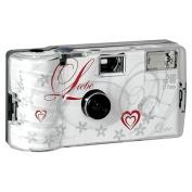 Single use camera Flash 400 27 Love white