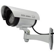 Fake Dummy IR Camera Outdoor Indoor Infrared Security CCTV Camera Surveillance LED Flashing Light Realistic Looking Waterproof