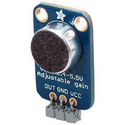 Adafruit Electret Microphone Amplifier with Adjustable Gain