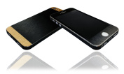 Brushed Slate & Gold Skin For iPhone 5s Decal Cover Wrap Protector NOT CASE