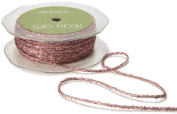 May Arts Ribbon, Mauve Metallic String