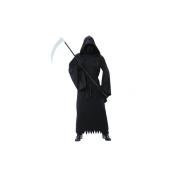 New Amscan Mens Halloween Phantom Darkness Fancy Dress Costume