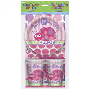 1St Birthday Ladybird - 25Pc Party Pack For 8