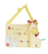 Lollipop Lane Tiddly Wink Safari Giraffe Door Hanger