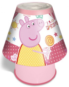 Spearmark Peppa Pig Fun Fair Kool Lamp, Pink