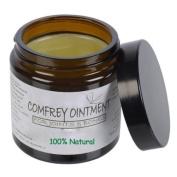 Natural Comfrey Ointment, skin injuries, broken bones and bone fractures. 120ml Jar