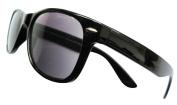 Designer Black +1.5 WAYFARER SUNREADERS Tinted READING GLASSES Sunglasses Spectacles 100% UV Protection