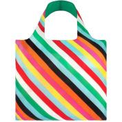 LOQI Pop Reusable Stripes Design Tote Shopping Bag