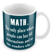 MATHS Novelty Funny Mug