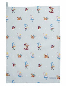 Sophie Allport Cotton Tea Towel - Alice In Wonderland design