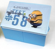 Despicable Me Minions Toy & Games Storage Box Chest - Blue