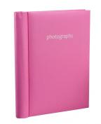 Arpan Hot Pink Self Adhesive Photo Albums 36 Sheets / 72 Sides