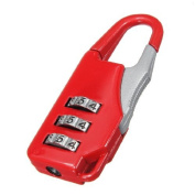Mini Portable 3 Digit Combination Security Padlock