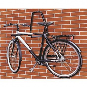Wall Mounted Folding Steel 3 Bike Bicycle Storage Rack Shed Garage Surf Board