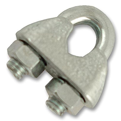 WIRE ROPE GRIP 3MM ELEC-GALV (PK10) by Unbranded - Shop
