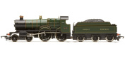 Hornby Railroad 00 Gauge GWR County of Devon Steam Locomotive