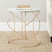 Safavieh Home Collection Cagney Gold Accent Table