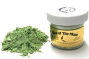 Peak Green Mica Powder 30ml, Metallic Green Mica Powder, Cosmetic Mica, Slice of the Moon