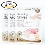 Hand Hydrating Gel Moisture Moisturising Gloves with Shea Butter & Jojoba & Vitamin E for Women,Girls,Men