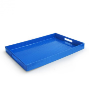Accents by Jay Rectangular Tray, Blue
