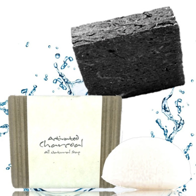 The BEST Activated Charcoal Soap | All Natural Organic Infused With Loads of Charcoal for Maximum Cleansing Effectiveness. For Women, Men and Teens On Face or Body, Chemical & Preservative Free.