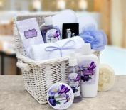 Blueberry Bliss Spa Essentials Gift Basket
