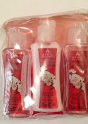 April Bath & Shower Cherry Blossom Scent Body Wash / Body Lotion / Shampoo Set 60ml each