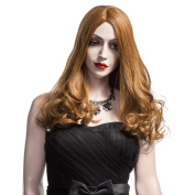 Fashion New Wigs, Long Dark Brown Wigs for Women, Long Natural Stright Synthetic Hair Wigs 5108
