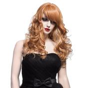 Nawomi Wigs 100%kanekalon Wig Female Long Nature Wavy Full Hair Wig 2112