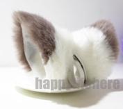 Cat Fox Ears Kitty Costume Halloween Cosplay Fancy Dress Mixed Colour Kits
