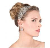 Wiipu Rhinestone Bridal Headband Wedding Crystal Headband