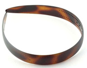 Parcelona Made in France Wide Celluloid Tortoise Shell Head Band Headband
