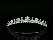 Bridal Rhinestone Crystal Flower Girl Bridesmaid Wedding Tiara Hair Comb T563