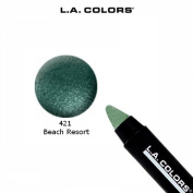 2 Pack L.A. Colours Cosmetics Jumbo Eye Pencil 421 Beach Resort
