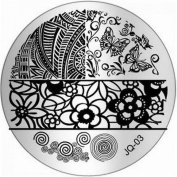 1Pc Wise Nail Art Stamping Easy Attach Full Designs Stamper JQ-Series Type Code JQ03