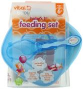 Vital Baby Babys 1st Feeding Set, Blue - 2 Count