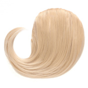OneDor®Side Swept Clip in Clip on Hair Bang Hair Extension Hair Piece