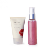 ARCONA - Polished Perfection - Exfoliate and Tone - Cranberry Toner and Cranberry Gommage
