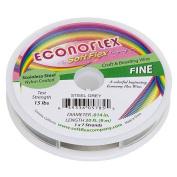 Econoflex Wire 7-Strand Fine (.014) 9.1m/Pkg-Steel Grey
