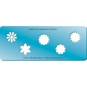 Cool Tools - Embossing Template - Daisies