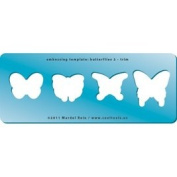 Cool Tools - Embossing Template - Butterflies 2 - Trim