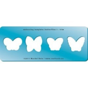 Cool Tools - Embossing Template - Butterflies 1 - Trim