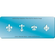 Cool Tools - Embossing Template - Fleur de Lis Classics 2