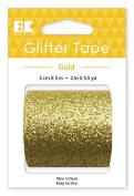 Best Creation Glitter Tape, 50mm/5m, Gold