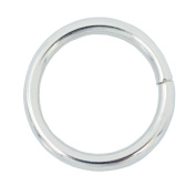 """Bluemoon 50 Pcs - 16mm 5/8"""" Metal O-rings Rings Non Welded"""