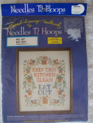 Eat Out Stamped Cross Stitch Kit